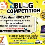 Kontes Blog Aku dan Indosat Berhadiah Pulsa 1,2 Juta