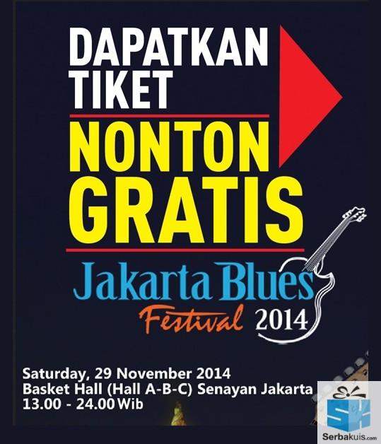 Kuis Berhadiah Tiket Nonton GRATIS Jakarta Blues 2014