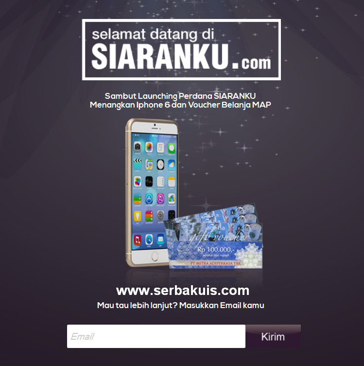 Kumpulin Poin Berhadiah IPhone 6 & Voucher MAP 4 Juta Rupiah