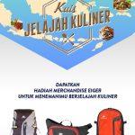Kuis Jelajah Kuliner Berhadiah 3 Merchandise EIGER