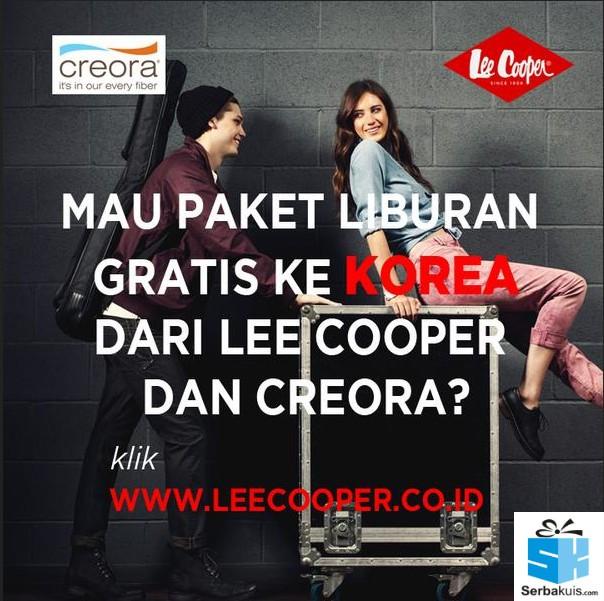liburan ke korea gratis dari lee cooper indonesia