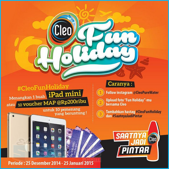 #CleoFunHoliday Instagram Photo Competition
