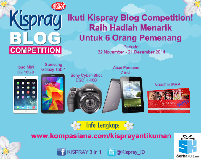 Kispray Blog Competition