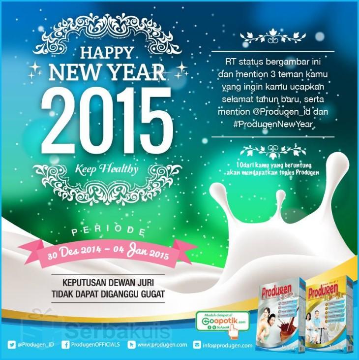 Kuis Tahun Baru 2015 Berhadiah 10 Toples Produgen
