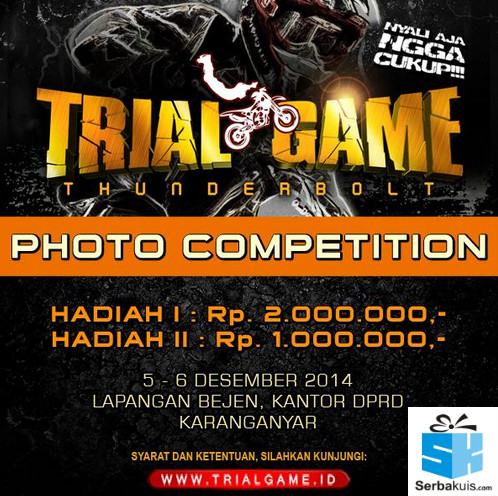 Trial Game Thunderbolt Photo Competition