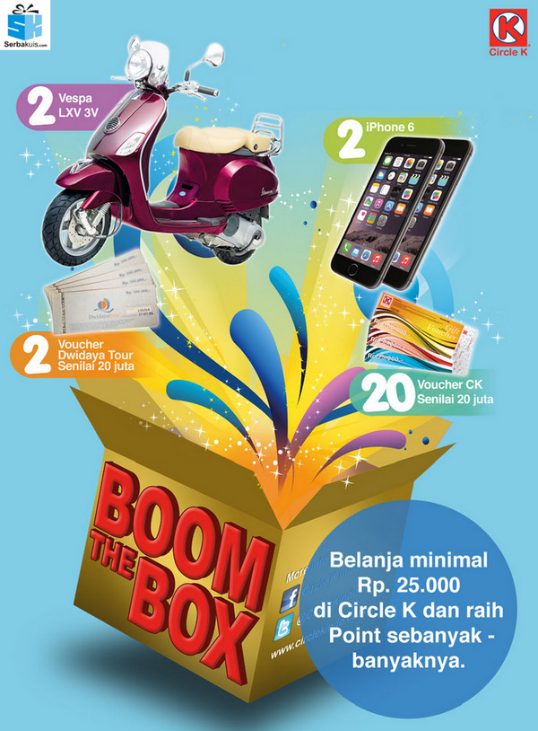 promo Circle K - Boom The Box