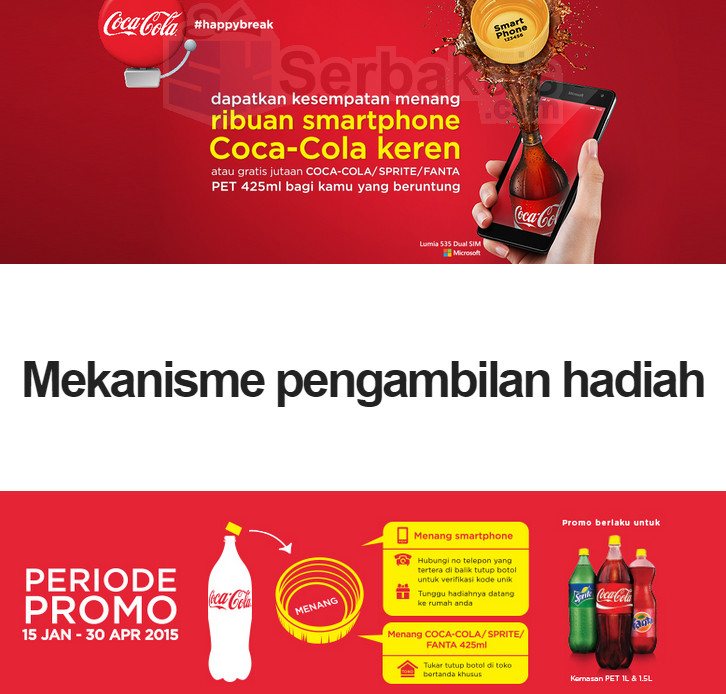 Promo Happy Break Coca Cola