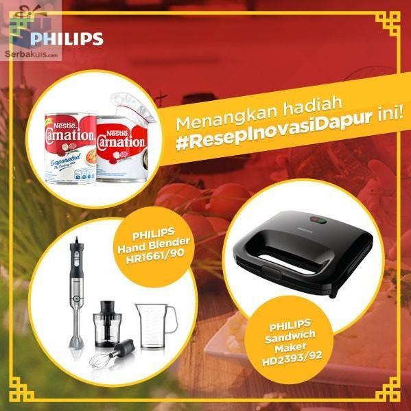 Resep Inovasi Dapur Philips & Carnation