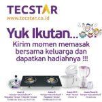 Tecstar Cooking Family Hadiah 3 Kompor Kaca Eksklusif
