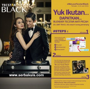 Kontes Foto We Love Tecstar Black Berhadiah 4 Blender TB-811 AS