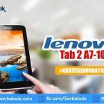 Kuis Pricebook Lazada Berhadiah 2 Lenovo Tab Wifi A7-10