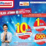 Promo Rezeki Jutawan Lotte Xylitol & Alfamart Berhadiah Uang Total 45 Juta