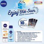 Kontes Foto Nivea Enjoy the Sun Berhadiah 10 iPhone 6
