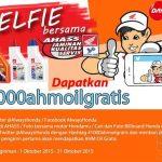 Kontes Foto Selfie Berhadiah 1000 AHM Oil Gratis