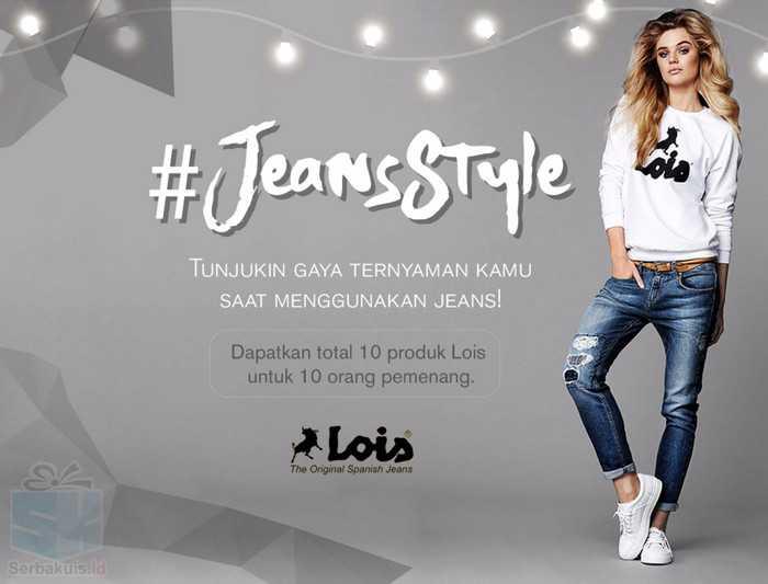 Kontes Foto Jeans Style Berhadiah 10 Produk Lois