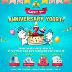 Kuis Ulang Tahun Yogrt 2nd Berhadiah Xiaomi Redmi Note 3 Pro 16 GB