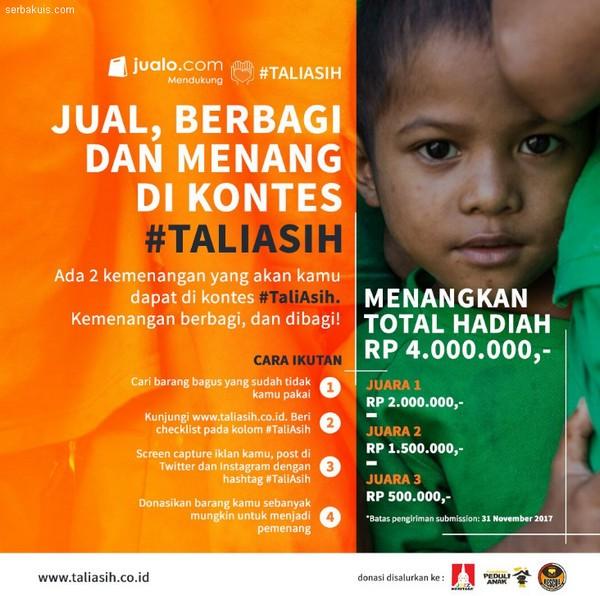 Kontes Pasang Iklan Di Taliasih Berhadiah Uang Tunai Total 4 Juta