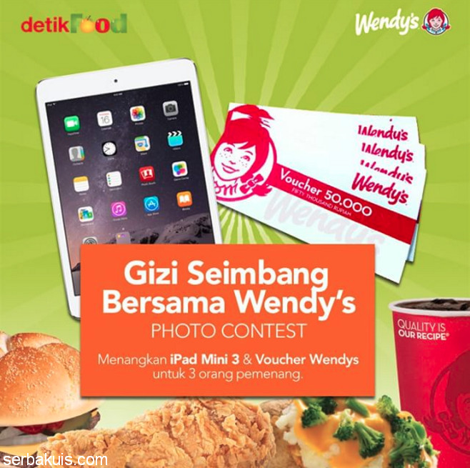 Gizi Seimbang Bersama Wendy's Photo Contest