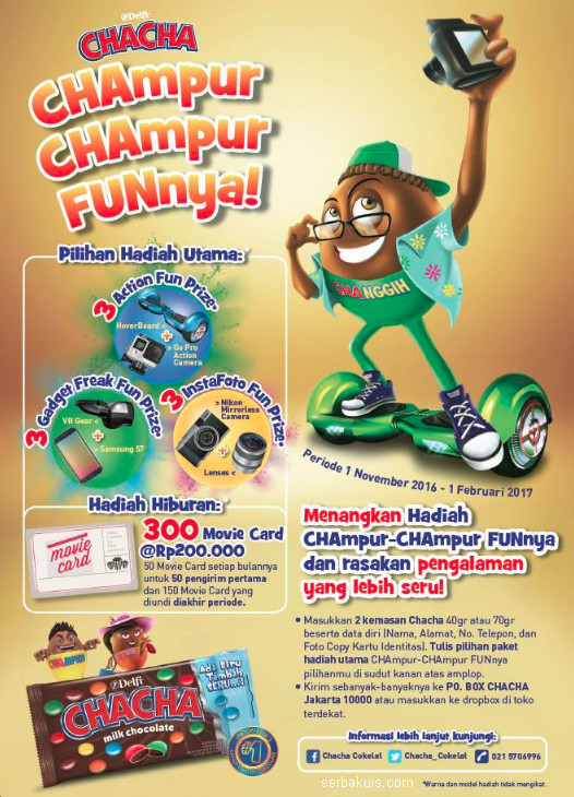 Undian ChaCha Champur-Champur Funnya