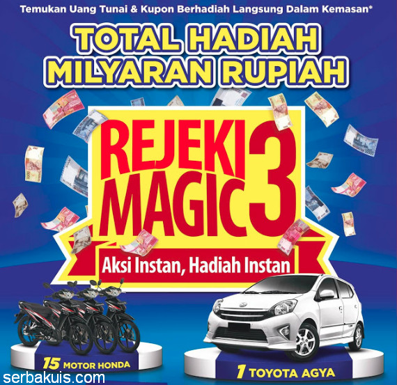 Promo Undian HIT Magic Rejeki Magic3