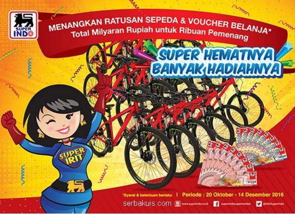 Promo Undian Super Indo Berhadiah 190 Unit Sepeda polygon Premier 4.0