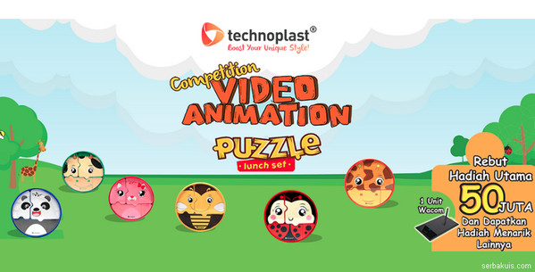 Technoplast Video Animation Competition - Puzzle Lunch Set