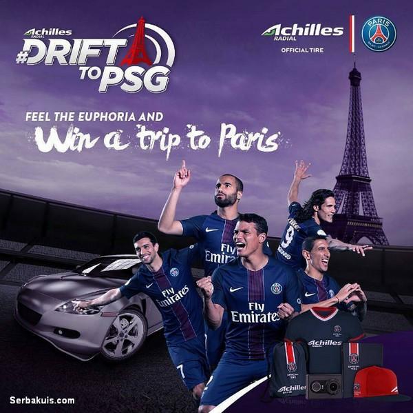 Kontes Achilles Corsa Berhadiah Trip ke Paris, Action Cam, Jersey & Tas Keren