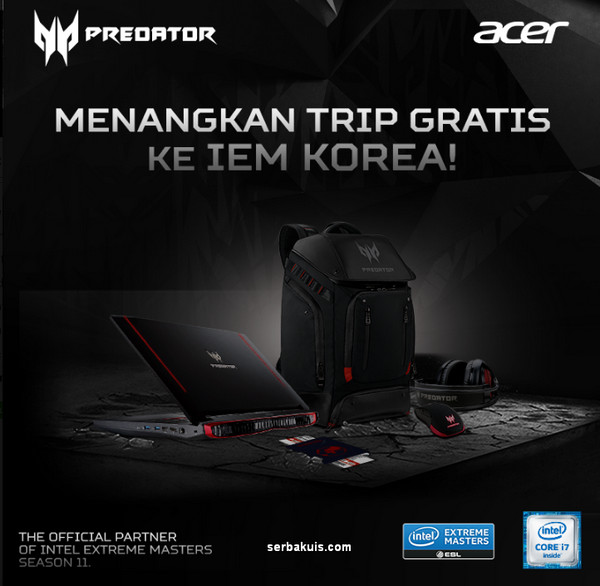 Acer Intel Extreme Master (IEM) 2016 Sweepstake