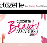 Kuis Vote Clozette Beauty Award 2016