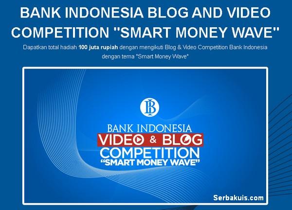 Lomba Blog & Video Smart Money Wave Berhadiah Total 100 Juta Rupiah