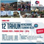 Lomba Foto Silaturahim Indonesia Menangis, 12 Tahun Mengenang Tsunami Aceh