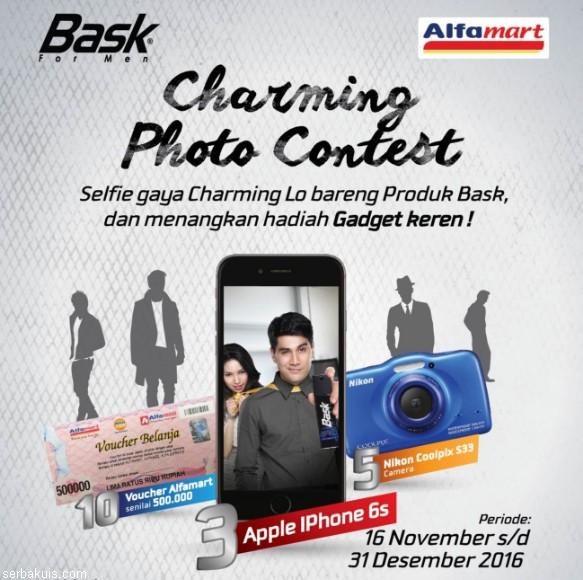 Lomba Foto Charming Bask Berhadiah 3 iPhone 6s & 5 Nikon Coolpix S33