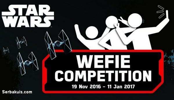 Starwars Wefie Competition
