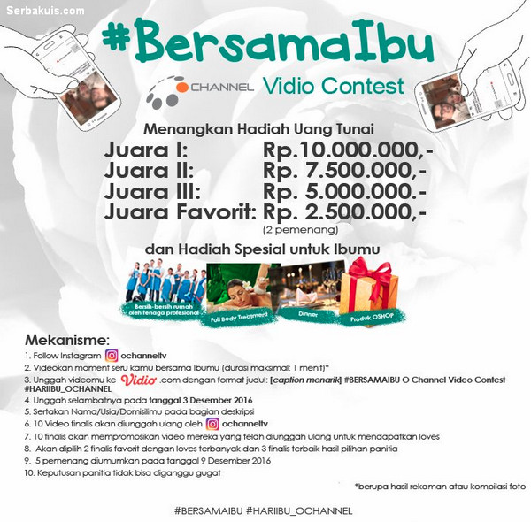 Bersama Ibu Video Contest