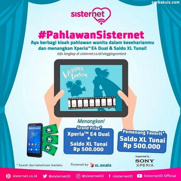 Pahlawan Sisternet Vlogging Contest