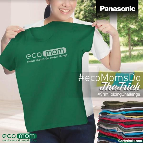 Kontes Video Shirt Folding Ecomom Berhadiah Blender, Rice cooker, Frypan & Set Maxim