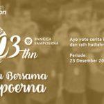 Ayo Dukung Cerita Terbaik 103 Tahun Sampoerna