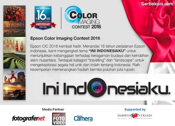 Lomba Foto CIC 2016 Ini Indonesiaku Berhadiah 3 Printer Epson + Uang 10 Juta