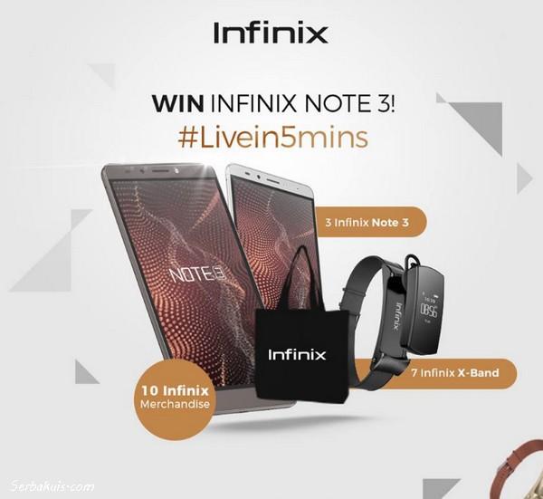 Infinix Live In 5 Mins