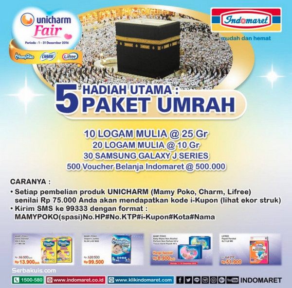 Promo Unicharm Fair Indomaret