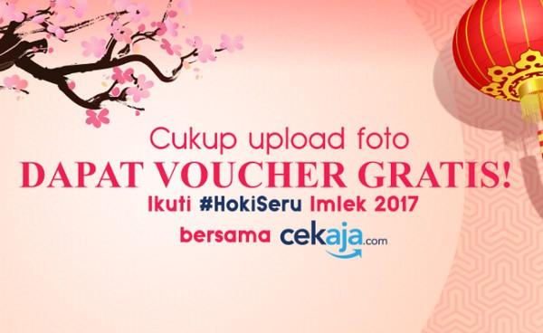 Kontes Foto Hoki Seru Cek Aja Berhadiah Voucher Belanja Total 1 Juta Rupiah