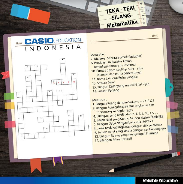 Mini Quiz TTS Matematika Casio Education