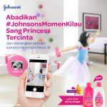 Johnsons Momen Kilau Sang Princess Tercinta