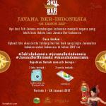 Javana Ber-Indonesia di tahun 2017