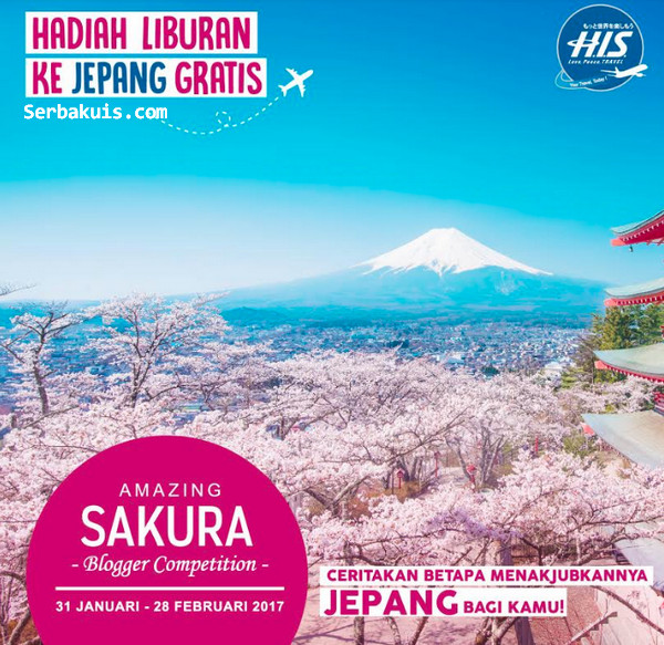 Amazing Sakura Blogger Competition
