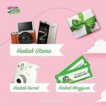 Lomba Foto Kado Untuk Dia Tokopedia Berhadiah Fujifilm XA-2, Instax Mini 8 & Asus zenfone 3