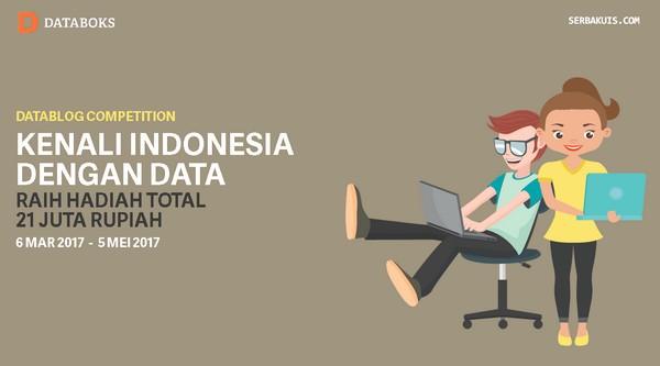 Lomba Blog Kenali Indonesia dengan Data Berhadiah Uang Total 21 Juta