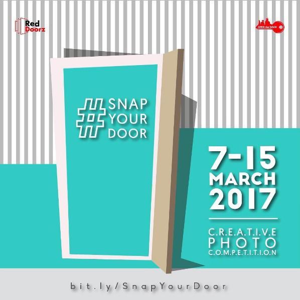 Lomba Foto Pintu Berhadiah Voucher Menginap, MAP, Tiket & Exclusive Gift Untuk Semua Peserta