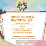 KOMPETISI IKLAN LAYANAN MASYARAKAT 2017