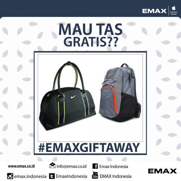 Kuis Instagram Emax Giftaway Berhadiah Tas Nike